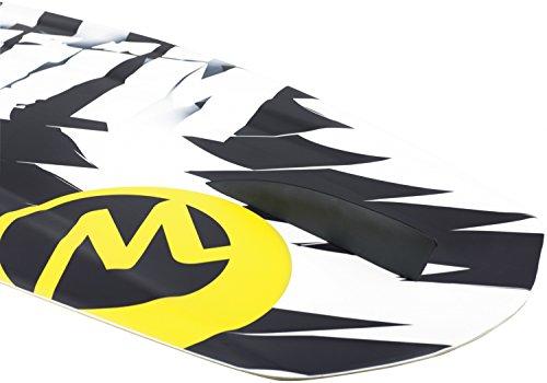 WAKETEC Wakeboard FreeRide 139 cm, Package mit OnSet Bindung, Größe:S-M - 2