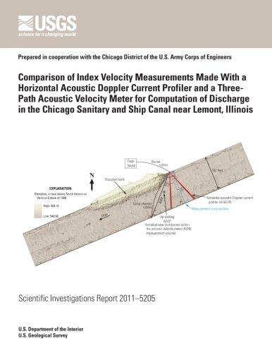 Comparison of Index Velocity Measurements Made With a Horizontal Acoustic Doppler Current Profiler and a Three-Path Acoustic Velocity Meter for Sanitary and Ship Canal near Lemont, Illinois -