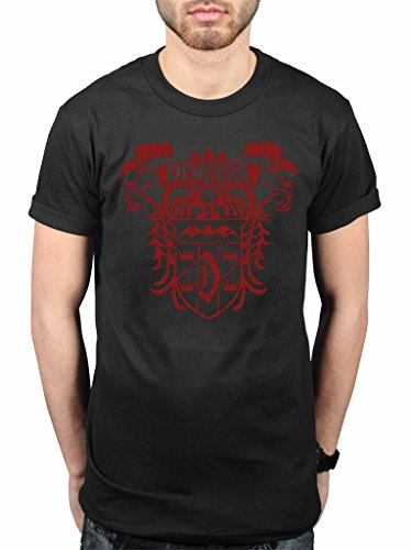 Official Plan 9 Dracula Crest T-Shirt Count Dracula Gothic Horror
