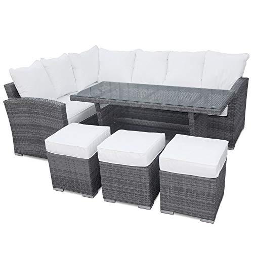 Groovy Home Patio Buy Roe Gardens Premium Rattan Corner Sofa Theyellowbook Wood Chair Design Ideas Theyellowbookinfo