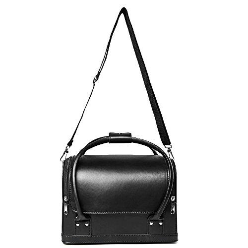 Zoom IMG-3 hbf borsa cosmetici nera in