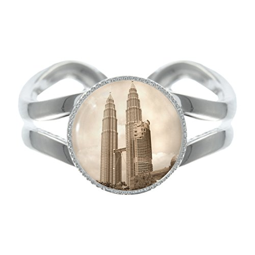 petronas-towers-design-silver-plated-adjustable-ring