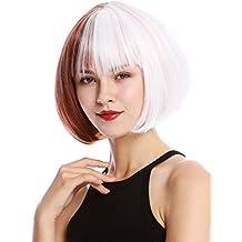WIG ME UP ® - GFW2289-1001+350 Peluca mujer cosplay calida corta peinado