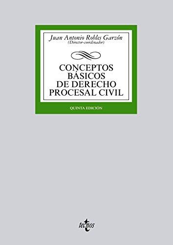 Conceptos básicos de Derecho procesal civil (Derecho - Biblioteca Universitaria De Editorial Tecnos)