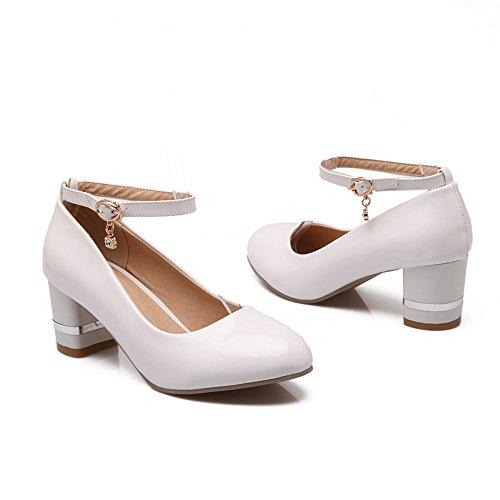 Balamasa - Sandales Compensées Femme Blanche