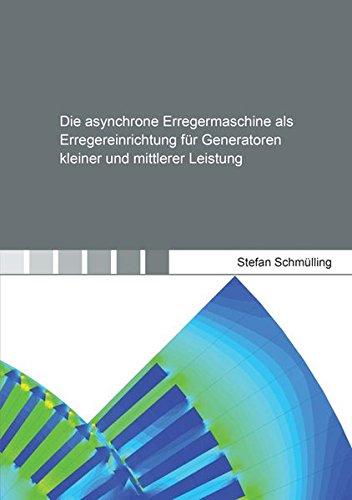 Die asynchrone Erregermaschine als Erregereinrichtung für Generatoren kleiner und mittlerer Leistung (Berichte aus der Energietechnik)