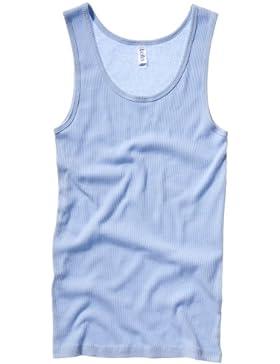 Bella + Canvas- Camiseta de tirantes en canalé para chica/mujer