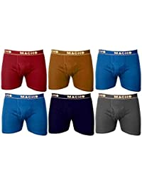 Amul Macho Cotton Trunk/Underwear For Men Extra Large (XL) 95 Cms Assorted PACK OF 2