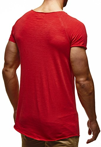 LEIF NELSON -  T-shirt - Uomo Rot