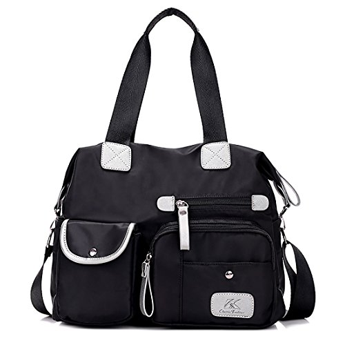 HT Women Shoulder Bag, Borsa a spalla donna Black