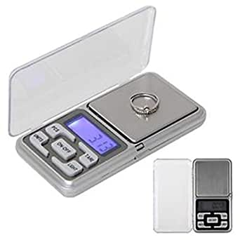 Generic Electronic Pocket Scale MH Series, 200g (Silver)