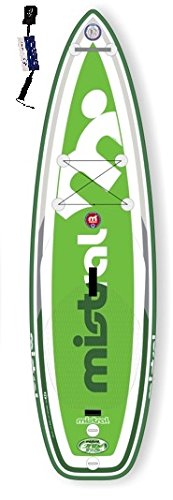 Mistral Java 9'6 TRIPE-Line, Standup Paddel Board, SUP aufblasbar inkl. SUPwave.de Coil-Leash, Stand up Paddle Board iSUP
