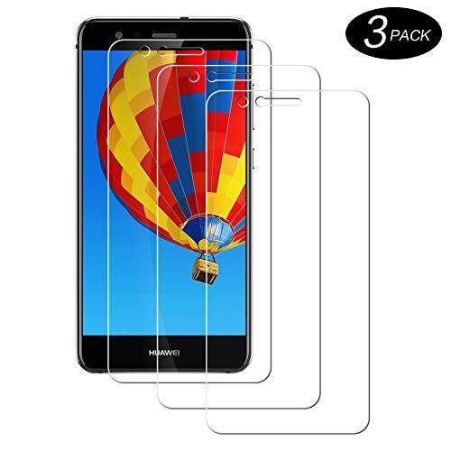 Hanbee Vetro Temperato Huawei P10 Lite Pellicola [3 Pezzi], Pellicola Protettiva Screen Protector per Huawei P10 Lite [Nessuna Bolla] [Compatibile con Custodia]