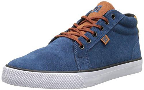DC COUNCIL MID SD M SHOE 4DW, Sneaker alta uomo Multicolore (Mehrfarbig (DARK DENIM/WHITE- 4DW))