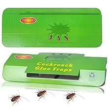 Fullsexy 20pcs Pièges à Cafards avec Piège Colle Tueur Attrape Cafards Répulsifs à Insectes Non Toxique