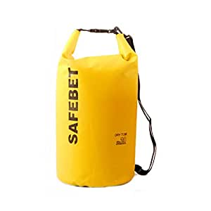 cjgifthouse Sac Dry Bag Sac imperméable pour camping/bateau/Rafting/Pêche/kayak/canoë Jaune 10L