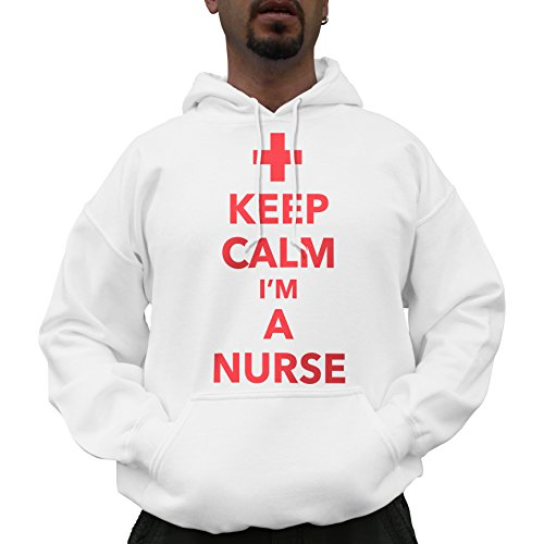 Nutees Keep Calm I'm A Nurse Funny Cool Unisex...