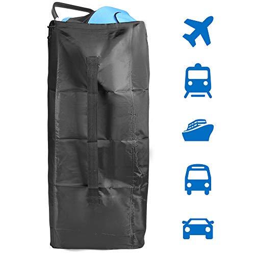 Sac de voyage pour poussette YSBER pour avion, sacs de contrôle pour porte-bébé avec bandoulière, résistant à l'eau et à l'air, idéal pour le transport aérien