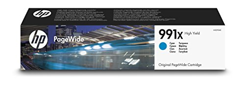 HP 991X High Yield Cyan Original PageWide Tintenpatrone M0J90AE - Yield-cyan-tinte
