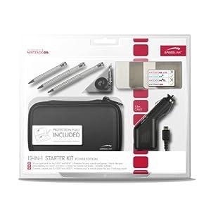 Speedlink Starter Kit 10-In-1 für Nintendo N3DS/NDSi (Tasche, Touch Pens, KFZ-Ladegerät, Schutzfolie, Spielhüllen…