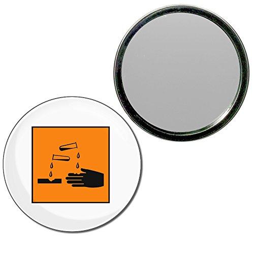 Corrosive - 55mm ronde de miroir compact