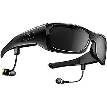 dccn lunettes cam ra vid o avec casque bluetooth multi fonction pour sports cycliste v lo moto. Black Bedroom Furniture Sets. Home Design Ideas