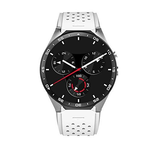 KW88 Smart-Armbanduhr, Herzfrequenzmesser, Schrittzähler, Bluetooth, 3G, für Android (Iphone 3g-armband)
