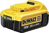 DeWalt DCB182-XJ Batería carril XR 18V Li-Ion 4, Negro y amarillo