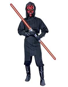 "Star Wars Costume, Mens Darth Maul Costume Style 2, Standard, CHEST 44"", WAIST 30 - 34"", INSEAM 33"""