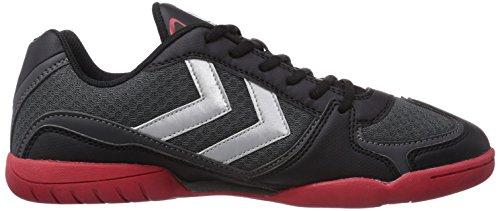 Hummel HUMMEL ROOT TROPHY, Chaussures indoor mixte adulte Gris (Magnet 1025)