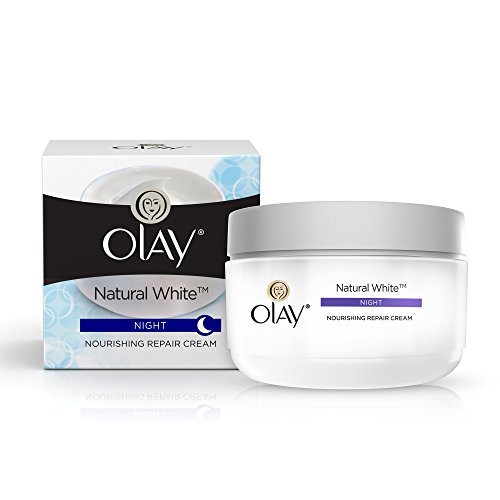 Olay Natural White All in One Fairness Night Skin Cream - 50 gm