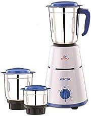 Bajaj Pluto 500-Watt Mixer Grinder with 3 Jars