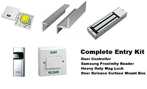 Kit complet de l'Entrée par procuration–PC programmable, Samsung Lecteur de porte Mag Lock Console