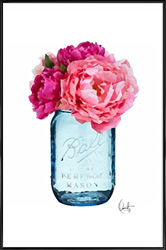 JUNIQE® Bild mit Rahmen 30x45cm Blumen - Design