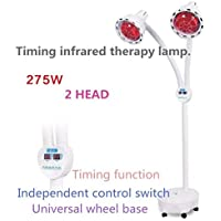 Eeayyygch Doppelköpfiger Infrarot-Therapie-Lampen-unabhängiger Schalter-Kontrollwinkel frei.275W (Farbe : -, Größe... preisvergleich bei billige-tabletten.eu