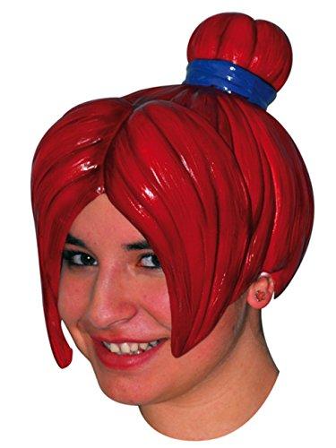 Wig Anime 4 Red (Erwachsene Black-emo-perücke Für)