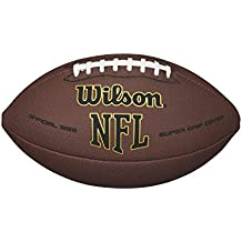 Wilson NFL Super Grip Balón de fútbol, color marrón, tamaño Official