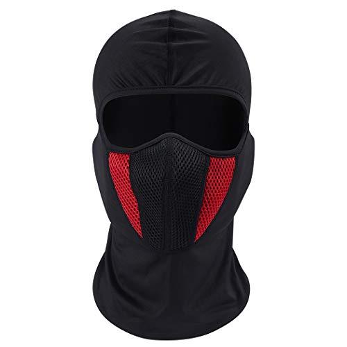 Fansport Outdoor Sportmaske Staubdichte Winddichte Gesichtsmaske FüR Motorradbekleidung -