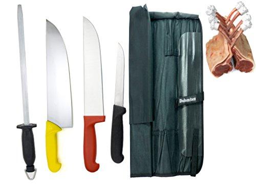 Ensemble de couteaux de boucher par Dolomiten Inox