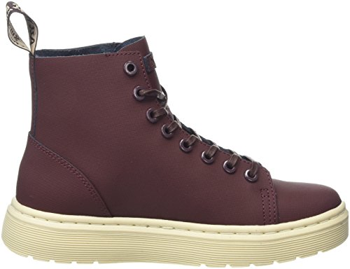 Dr. Martens Talib Old Oxblood Ajax, Stivali Unisex-Adulto Rosso (Old Oxblood)