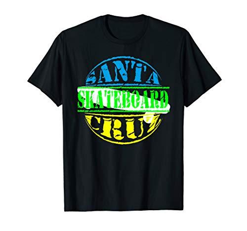 Santa Cruz Skateboard Beach California T-shirt (Santa-t-shirt)