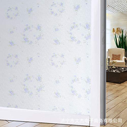 lsaiyy Fensterpapier Fensteraufkleber Mattaufkleber Bad Zellophan Blackout Fensteraufkleber - 90cmx5m