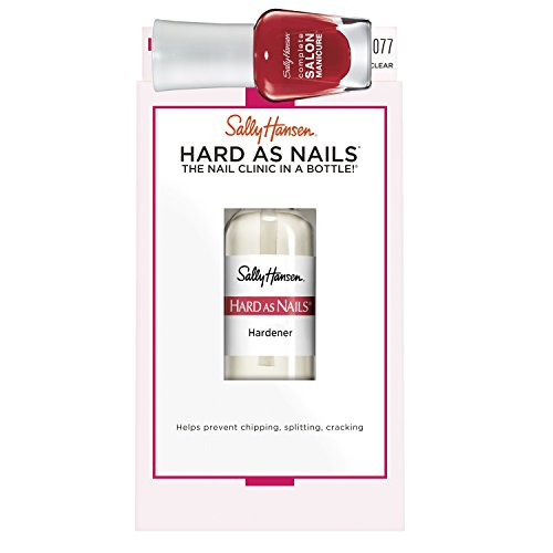 Sally Hansen Nagelset Hard As Nails Nagelhärter + Complete Salon Manicure Mini, Farbe 570 Right...