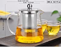 Stainless Steel Infuser Steeping Herbal Tea Kettle