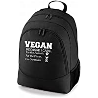 Universal Novelty Backpack VEGAN because I care for the animals,for the planet,for ourselves