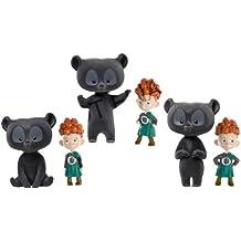 Mattel V1813 Disney Brave - Trillizos con disfraz de oso
