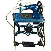 Juguete Infantil Decorativo de Hojalata Mini Maquina DE Coser. Máquinas a Escala. Juguetes y
