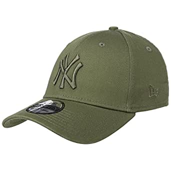 brand new 64f1a 08b94 A NEW ERA Cap - 39Thirty MLB New York Yankees League Esntl Green Green  Size  XS S  Amazon.co.uk  Clothing