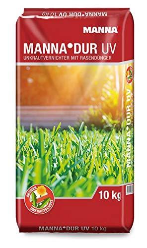 MANNA DUR Rasendünger mit UV 10 kg - ein NPK-Dünger mit Carbamidstickstoff, ein Langzeitdünger
