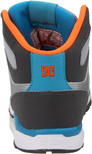 DC Shoes Alias Lite MID Womens Shoe D0303293, Baskets mode femme Gris